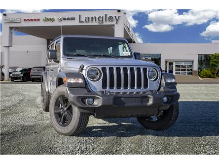 2020 Jeep Wrangler Unlimited Sport (Stk: L112888) in Surrey - Image 1 of 22