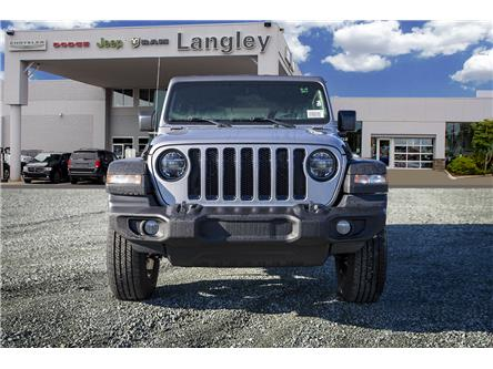 2020 Jeep Wrangler Unlimited Sport (Stk: L112888) in Surrey - Image 2 of 22