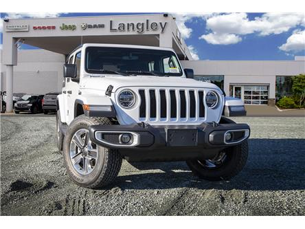 2020 Jeep Wrangler Unlimited Sahara (Stk: L177253) in Surrey - Image 1 of 22