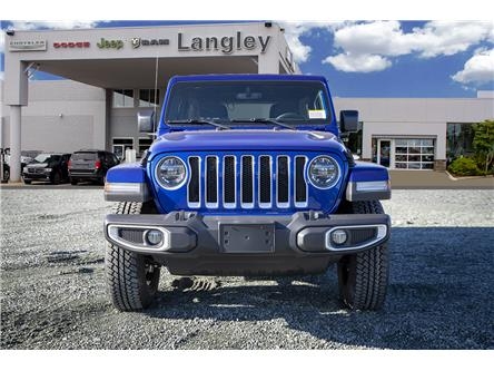 2020 Jeep Wrangler Unlimited Sahara (Stk: L178288) in Surrey - Image 2 of 22