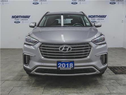 2018 Hyundai Santa Fe XL Premium   AWD   HTD SEATS   PUSH START   3 ROW   (Stk: DR224) in Brantford - Image 2 of 43