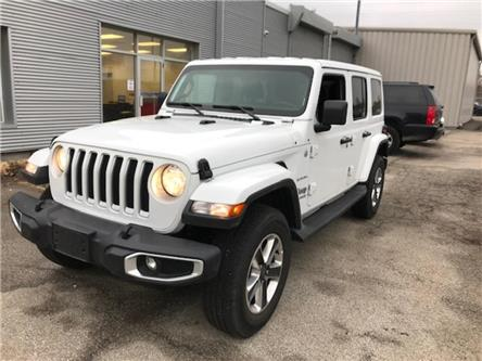 2019 Jeep Wrangler Unlimited Sahara (Stk: 1C4HJX) in Etobicoke - Image 2 of 9