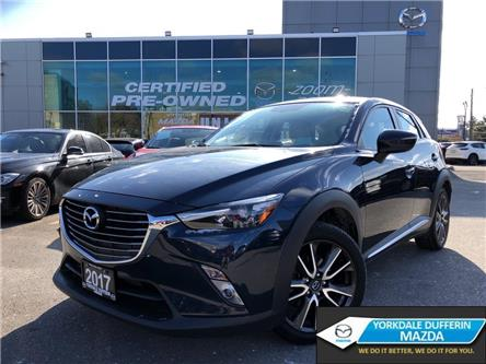 2017 Mazda CX-3 GT AWD at NAVI,LEATHER,ALLOYS,SUNROOF,NO ACCIDENT (Stk: P2002) in Toronto - Image 1 of 24