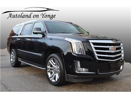 2017 Cadillac Escalade ESV Premium Luxury (Stk: U16594A) in Thornhill - Image 1 of 36