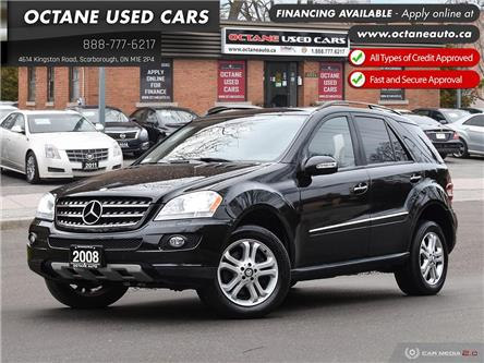 2008 Mercedes-Benz M-Class Base (Stk: ) in Scarborough - Image 1 of 26
