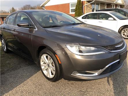 2015 Chrysler 200 Limited (Stk: -) in Kemptville - Image 1 of 15