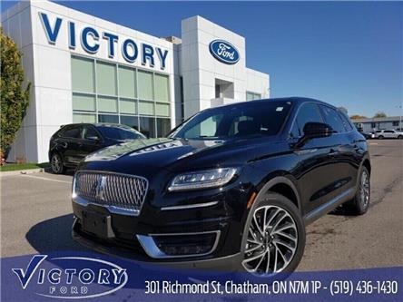 2019 Lincoln Nautilus Reserve (Stk: V10334CAP) in Chatham - Image 1 of 16
