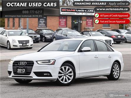 2013 Audi A4 2.0T Premium (Stk: ) in Scarborough - Image 1 of 26