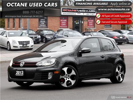2013 Volkswagen Golf GTI 3-Door (Stk: ) in Scarborough - Image 1 of 27
