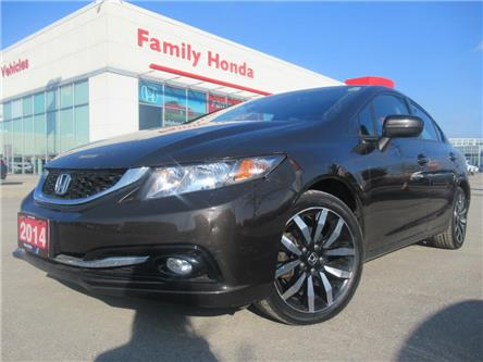 2014 Honda Civic Sedan Touring | SUNROOF | NAVI | PUSH START | (Stk: 015005T) in Brampton - Image 1 of 30