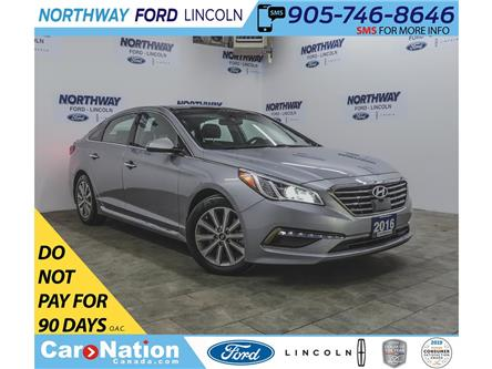 2016 Hyundai Sonata Limited | NAV | LEATHER | PANOROOF | PUSH START | (Stk: FU88186A) in Brantford - Image 1 of 42