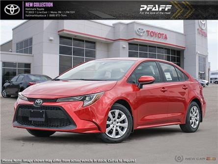 2020 Toyota Corolla 4-door Sedan LE CVT (Stk: H20242) in Orangeville - Image 1 of 24