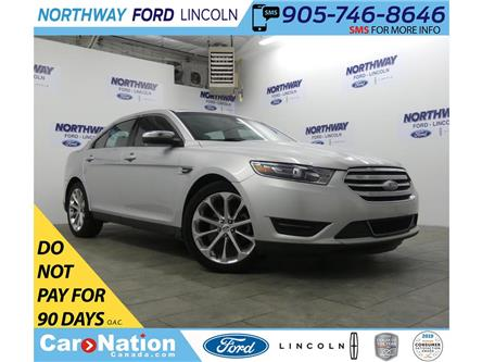 2017 Ford Taurus Limited | AWD | NAV | PWR HTD LEATHER | SUNROOF | (Stk: DR286) in Brantford - Image 1 of 33