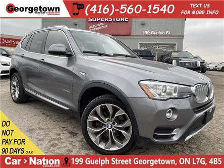 2017 BMW X3 xDrive28i | LEATHER | PANO | NAVI | CLEAN CARFAX (Stk: P12808) in Georgetown - Image 1 of 32