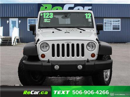 2012 Jeep Wrangler Sport (Stk: 191031A) in Fredericton - Image 2 of 19