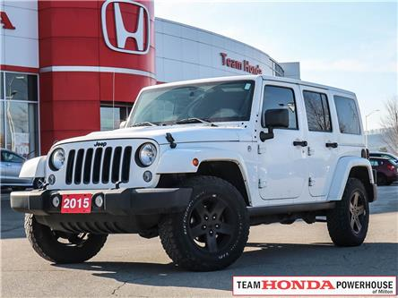 2015 Jeep Wrangler Unlimited Sahara (Stk: 191299A) in Milton - Image 1 of 22