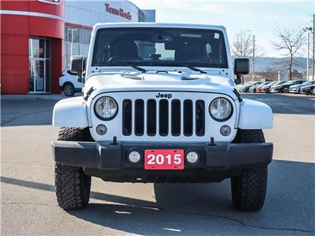 2015 Jeep Wrangler Unlimited Sahara (Stk: 191299A) in Milton - Image 2 of 22