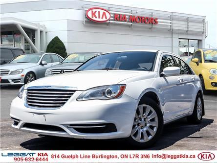 2013 Chrysler 200 LX (Stk: W0209) in Burlington - Image 1 of 22