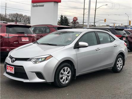 2014 Toyota Corolla CE (Stk: W4898) in Cobourg - Image 1 of 17