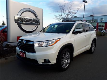 2016 Toyota Highlander XLE (Stk: P0094A) in Courtenay - Image 1 of 9