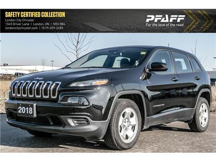 2018 Jeep Cherokee Sport (Stk: LU8728) in London - Image 1 of 21