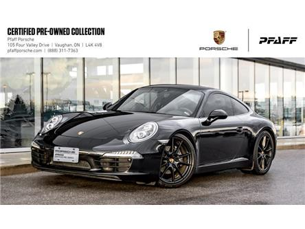 2016 Porsche 911 Carrera Coupe Black Edition PDK (Stk: U8361) in Vaughan - Image 1 of 21
