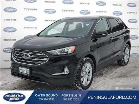 2020 Ford Edge Titanium (Stk: 20ED03) in Owen Sound - Image 1 of 25