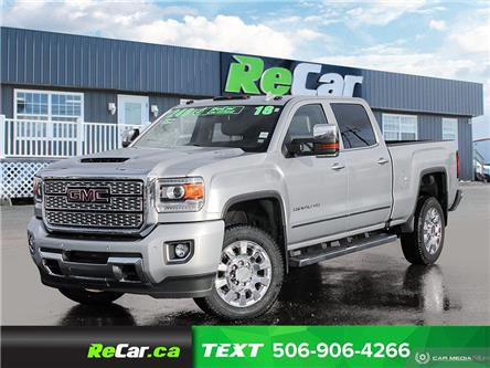 2018 GMC Sierra 2500HD Denali (Stk: 191277A) in Fredericton - Image 1 of 24