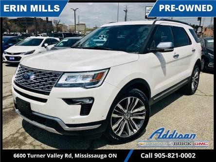 2018 Ford Explorer Platinum (Stk: UM48659) in Mississauga - Image 1 of 22
