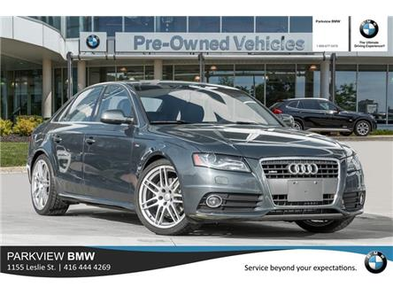 2010 Audi A4 2.0T (Stk: PP8902A) in Toronto - Image 1 of 19