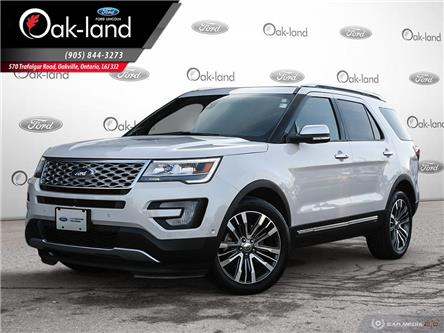 2017 Ford Explorer Platinum (Stk: 0T030A) in Oakville - Image 1 of 27