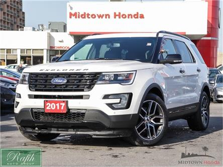 2017 Ford Explorer Sport (Stk: P13322) in North York - Image 1 of 30