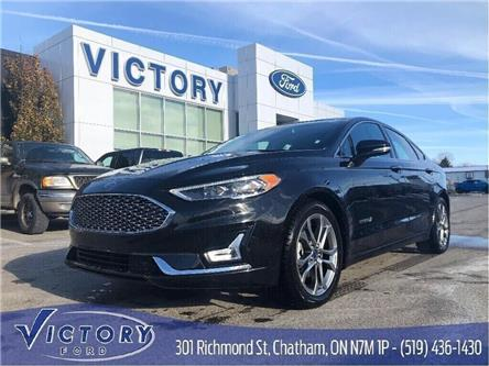 2019 Ford Fusion Hybrid Titanium (Stk: V5729R) in Chatham - Image 1 of 19