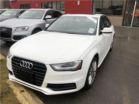 2016 Audi A4 2.0T Komfort plus (Stk: 017448) in Vaughan - Image 1 of 5