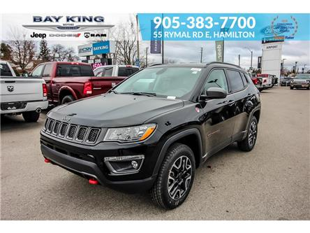2020 Jeep Compass Trailhawk (Stk: 207521) in Hamilton - Image 1 of 25