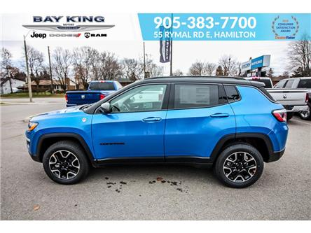 2020 Jeep Compass Trailhawk (Stk: 207523) in Hamilton - Image 2 of 27