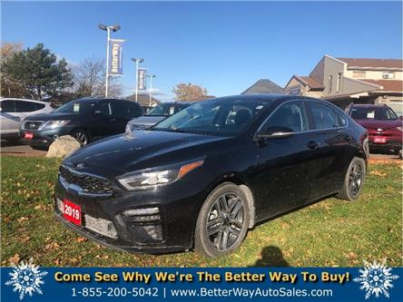 2019 Kia Forte EX| APPLE/ANDROID CAR PLAY |SUNROOF|HEATED SEATS (Stk: 5556) in Stoney Creek - Image 1 of 21