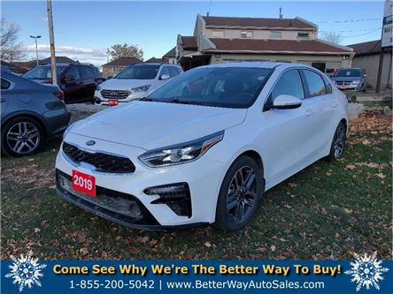 2019 Kia Forte EX| APPLE /ANDROID CAR PLAY| SUNROOF| BLUETOOTH (Stk: 5555) in Stoney Creek - Image 1 of 22