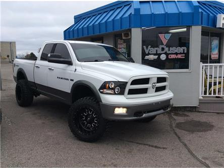 2011 RAM 1500 4WD Quad Cab 140.5  Outdoorsman (Stk: B7510B) in Ajax - Image 1 of 19