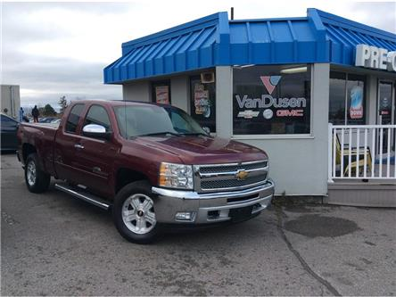 2013 Chevrolet Silverado 1500 4WD Ext Cab 143.5  LT (Stk: 194595A) in Ajax - Image 1 of 20