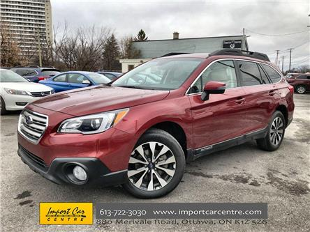 2017 Subaru Outback 2.5i Limited (Stk: 329903) in Ottawa - Image 1 of 26
