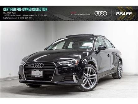 2017 Audi A3 2.0T Progressiv (Stk: 53468) in Newmarket - Image 1 of 22