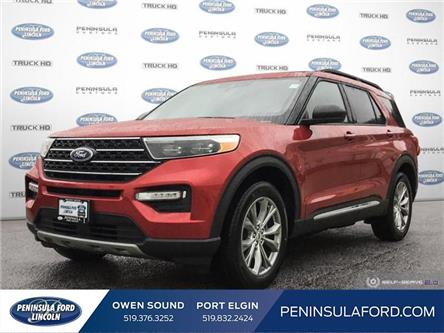 2020 Ford Explorer XLT (Stk: 20EX15) in Owen Sound - Image 1 of 24