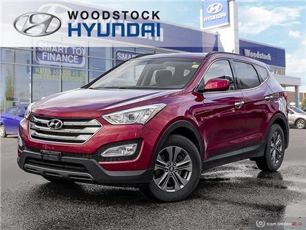 2016 Hyundai Santa Fe Sport 2.4 Premium (Stk: SE19007A) in Woodstock - Image 1 of 27