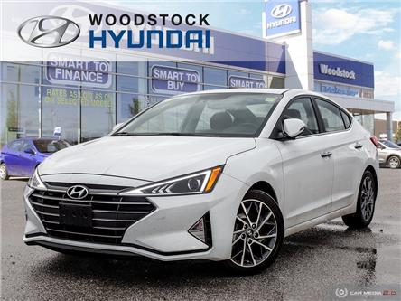 2019 Hyundai Elantra Luxury (Stk: TN19076A) in Woodstock - Image 1 of 27