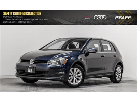 2015 Volkswagen Golf 1.8 TSI Highline (Stk: C7122A) in Woodbridge - Image 1 of 22