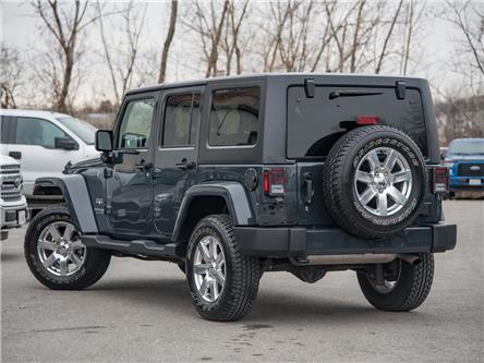 2018 Jeep Wrangler JK Unlimited Sahara (Stk: 19F11238T) in St. Catharines - Image 2 of 23