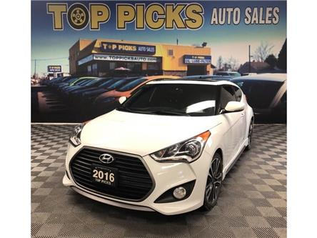 2016 Hyundai Veloster Turbo (Stk: 249051) in NORTH BAY - Image 1 of 28