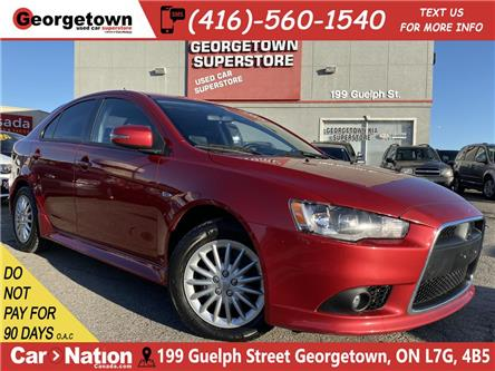2015 Mitsubishi Lancer Sportback SPORTBACK | LEATHER | SUNROOF | 5 SPEED |HTD SEATS (Stk: P12823) in Georgetown - Image 1 of 27