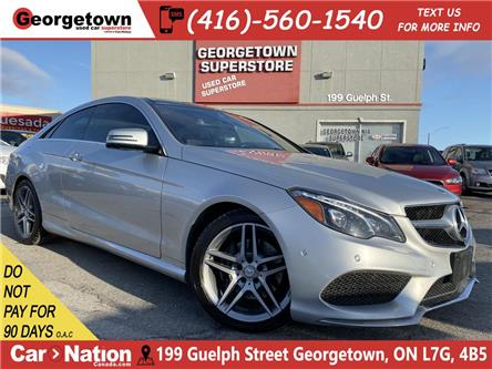 2014 Mercedes-Benz E-Class COUPE | AWD | NAVI | PANO ROOF | 360 CAM | (Stk: GSP186) in Georgetown - Image 1 of 28
